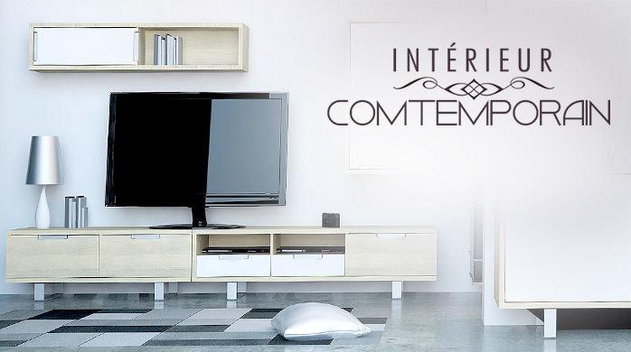 Vente privée intérieur contemporain