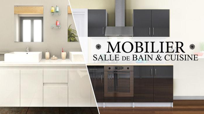 ventes priv es meubles de marque pas cher bazarchic. Black Bedroom Furniture Sets. Home Design Ideas